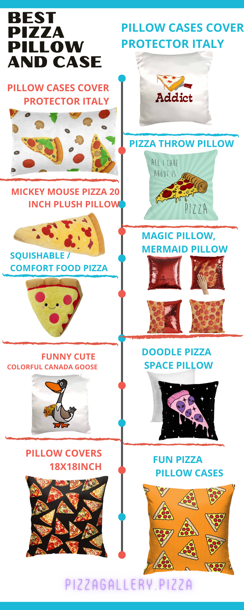 Best Pizza Pillow And Case