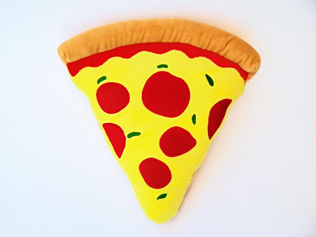 pizza pillow image