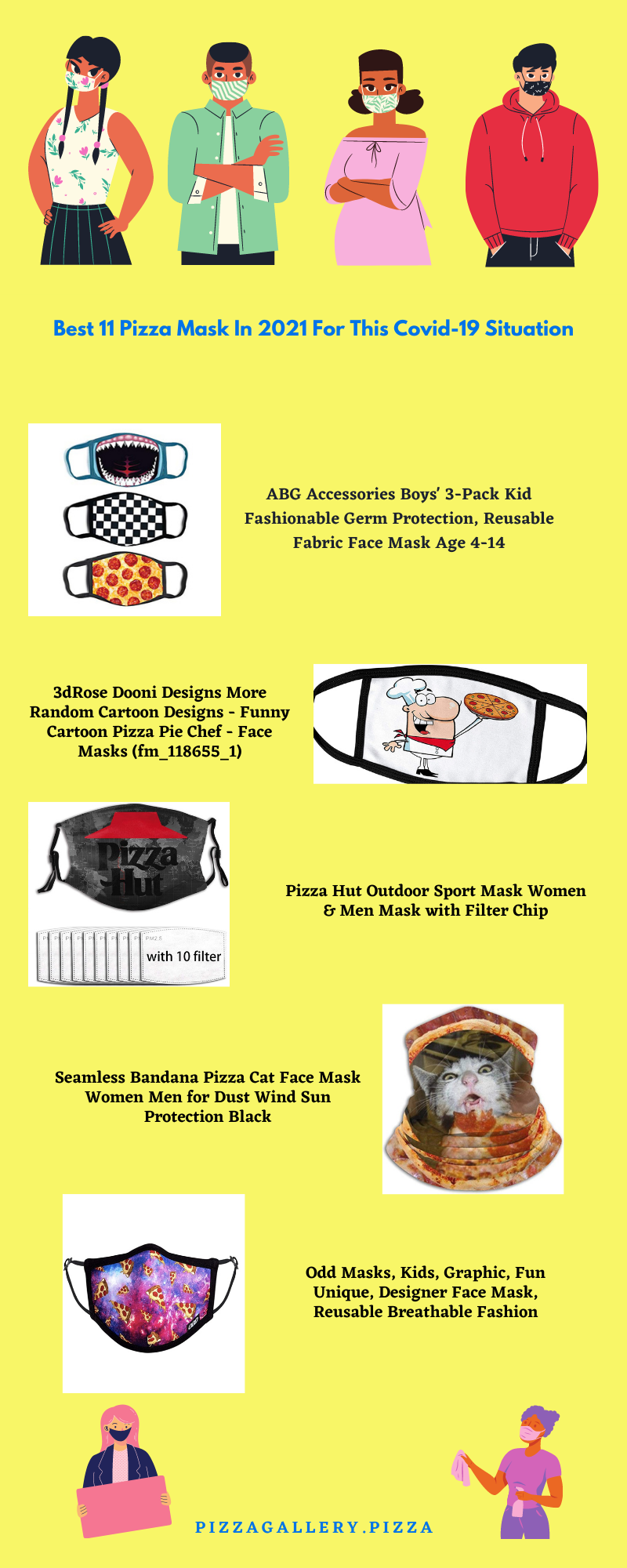 Best 11 pizza mask in 2021 for this Covid-19 situation